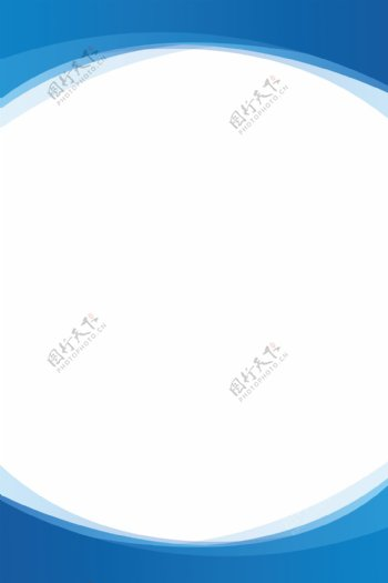 蓝色展板背景图片