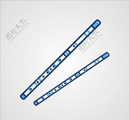 笛子乐器图片