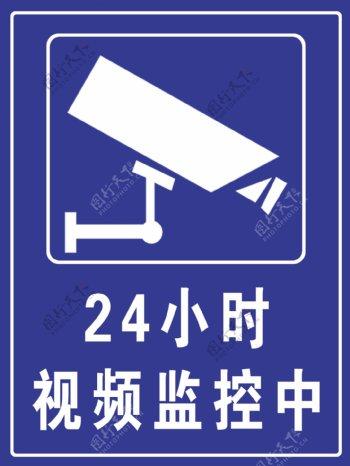 24小时视频监控区域图片
