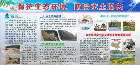 保护生态环境防治水土流失图片