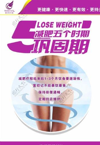 瘦邦纤体减肥五个时期巩固期图片