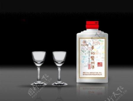 酒和酒杯图片