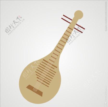 琵琶中国乐器图片