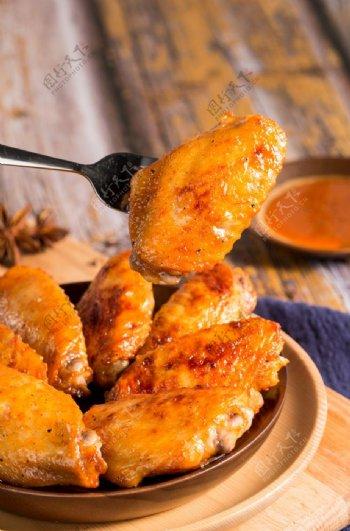 鸡翅膀可乐鸡翅图片