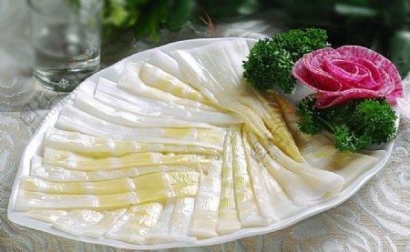 火锅配菜方竹笋图片