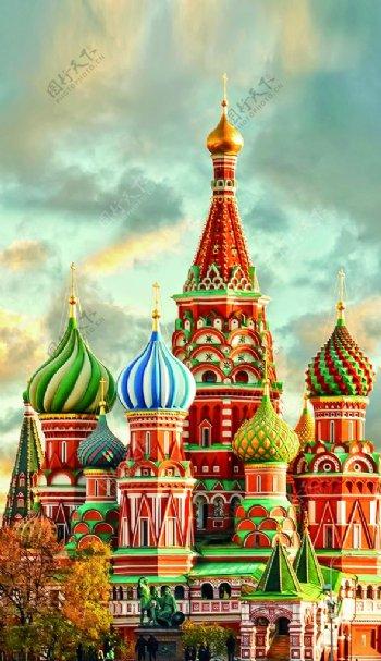 俄罗斯建筑元素图片