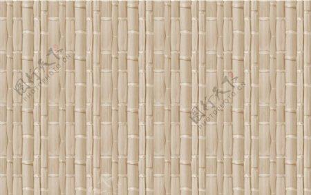 竹子围墙效果图片