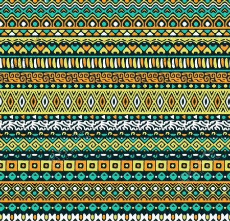 部落元素条纹背景图片