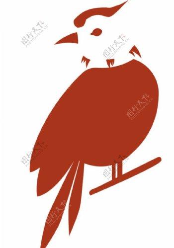 小鸟剪影图片