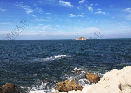 大海边图片
