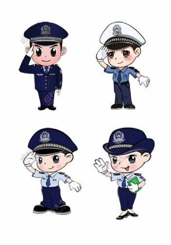 交通警察图片
