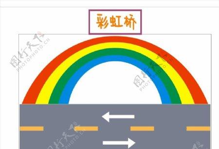 手工制作彩虹桥图片