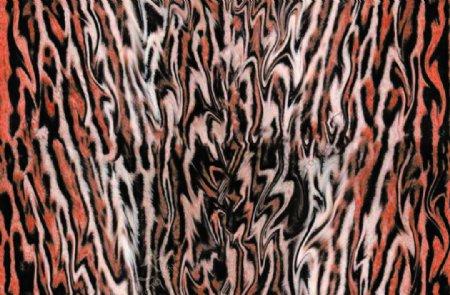 蟒纹蛇皮图片