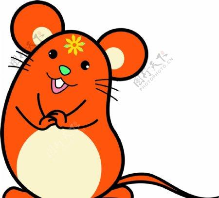 卡通头像小老鼠图片