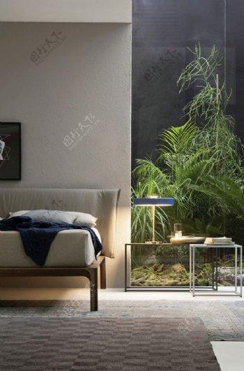 露台卧室阳光图片