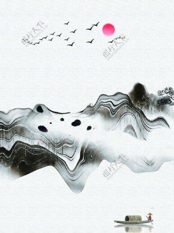 意境山水图片