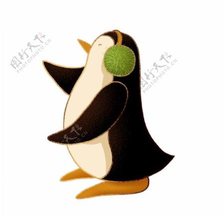 简约卡通企鹅图片