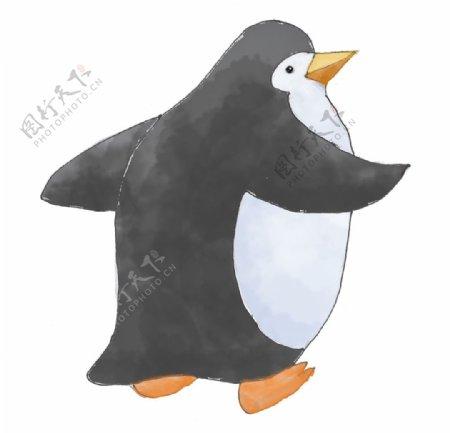 情侣企鹅图片