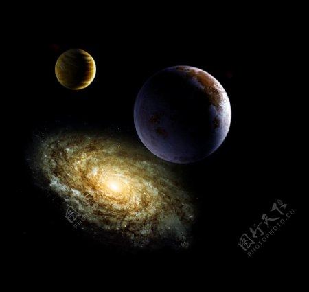 宇宙星球素材图片