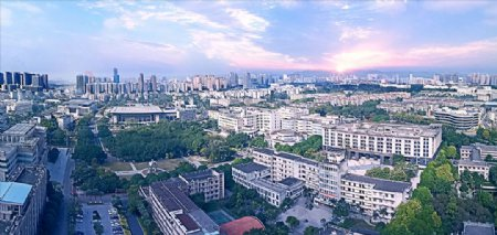 广西大学鸟瞰图图片