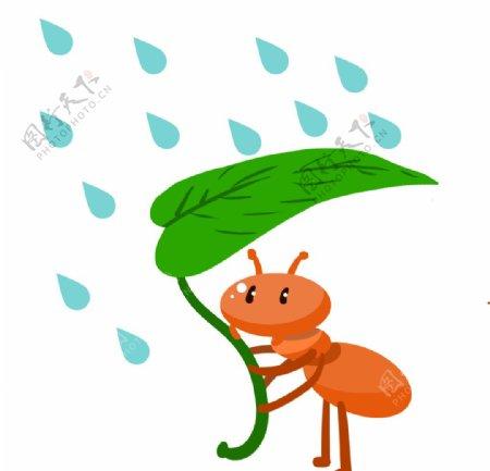 手绘蚂蚁素材图片