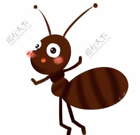 卡通手绘蚂蚁图片