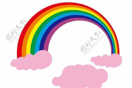 彩虹上伍图片