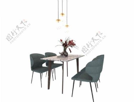 餐桌3d模型图片