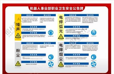 卫生安全告知牌图片