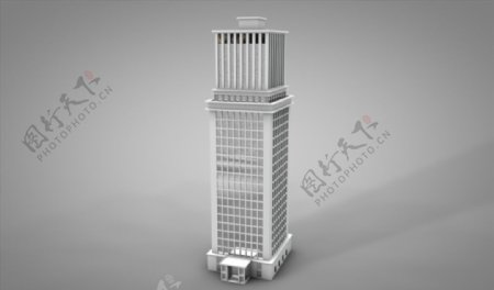 C4D模型高楼大夏摩天大楼图片