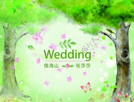 婚庆背景图片