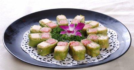 绿茶水果卷图片