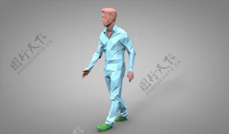 C4D模型人物人像图片