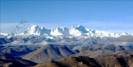 照片珠峰西藏图片