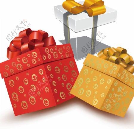 礼盒礼物矢量图片