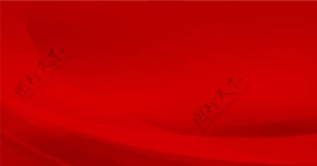 红色PPT会议背景图图片