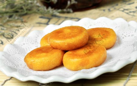 南瓜煎饼图片