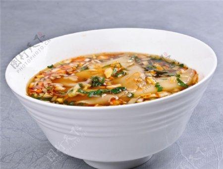 酸汤饺子皮图片