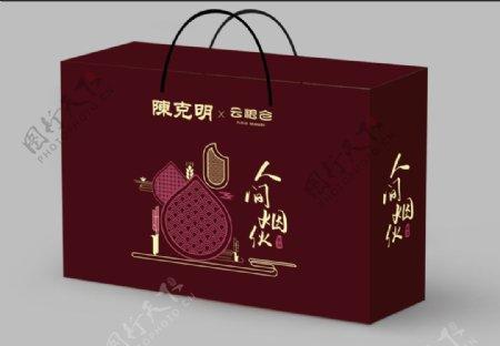 礼盒设计效果图图片