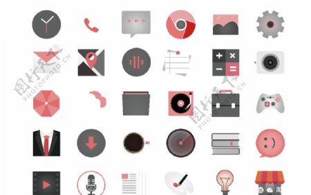 手机矢量图标图片