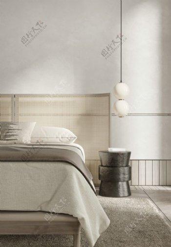 卧室墙纸展示图片