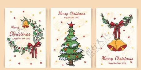 圣诞海报卡片图片