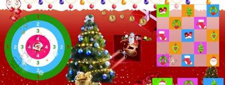 圣诞地贴图片