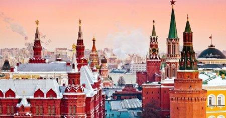 城堡高楼大厦建筑风景图片