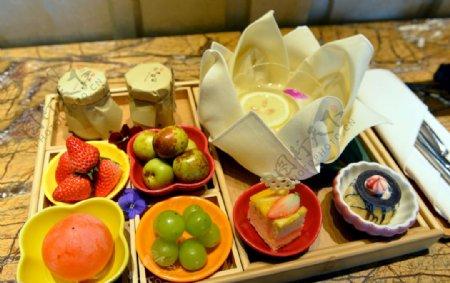 客房水果套餐图片