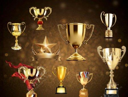 奖杯集图片