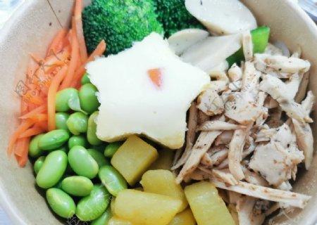 营养餐图片