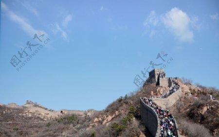 北京八达岭长城图片