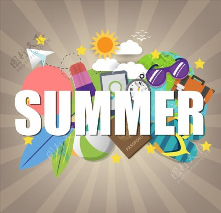 夏天促销图片