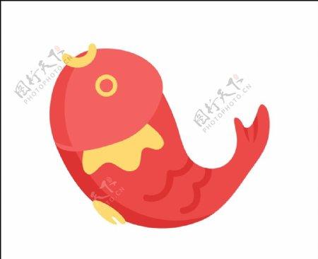 鲤鱼锦鲤矢量图片